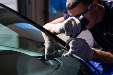 Ремонт трещин лобовых стёкол